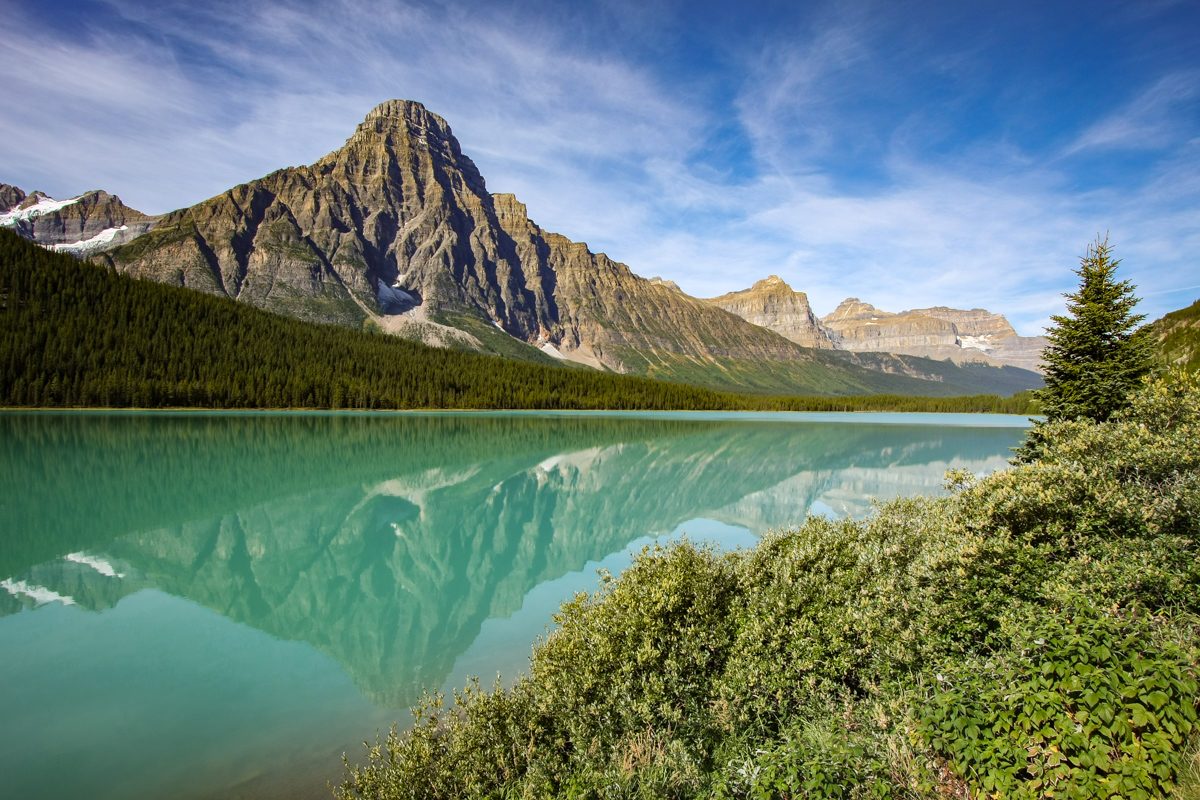 Banff Mountain Lake